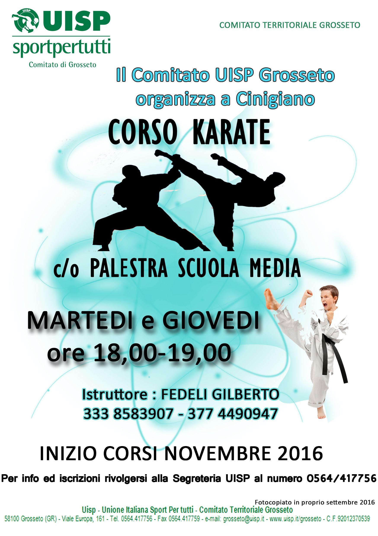 volantino karate_0001